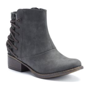 Candie's® Girls' Corset Ankle Boots