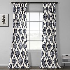 EFF Ikat Lined Window Curtain