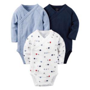 Baby Boy Carter's 3-pk. Sporty Side-Snap Bodysuits