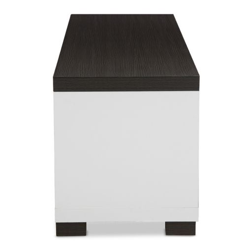 Baxton Studio Oxley Two-Tone 70-in. TV Cabinet