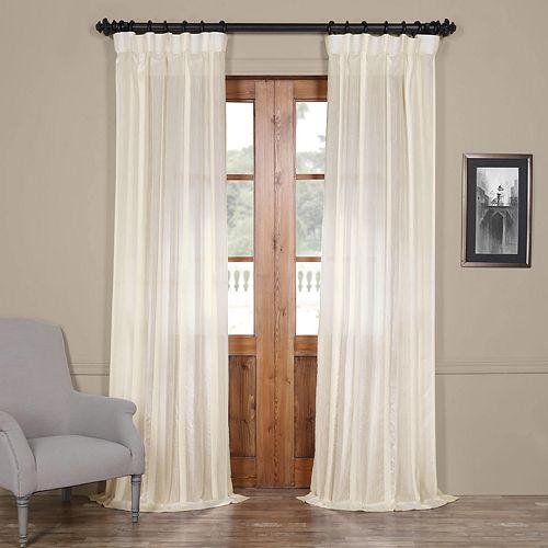 EFF 1-Panel Antigua Sheer Window Curtain