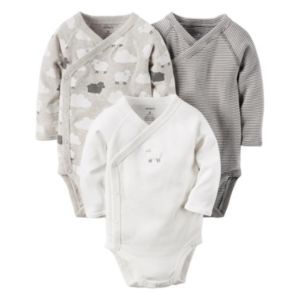 Baby Carter's 3-pk. Lamb Side-Snap Bodysuits