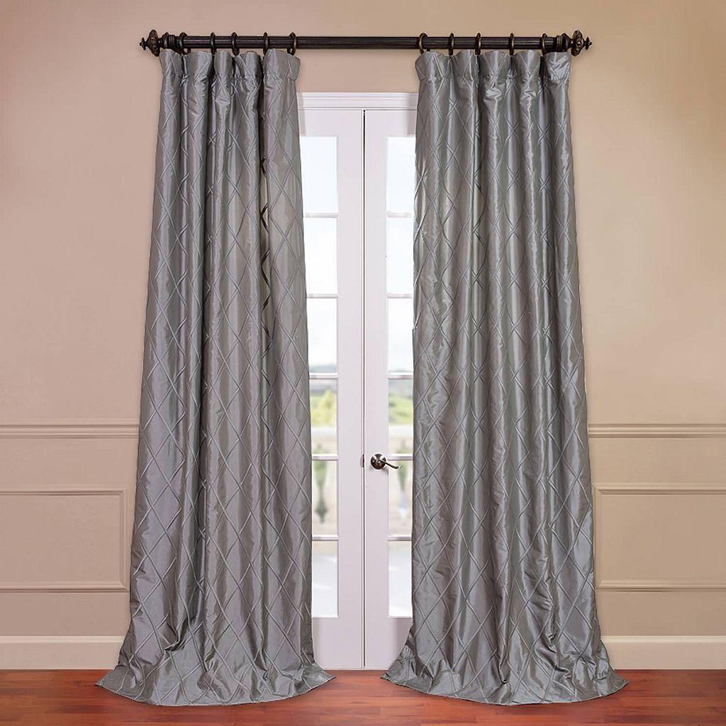 EFF Alexandria Faux-Taffeta Silk Window Curtain