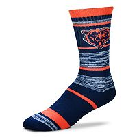 Adult For Bare Feet Chicago Bears RMC Stripe Crew Socks