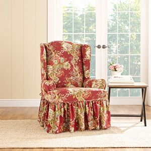 wing chair slipcover sale - Wing Chair Slipcover