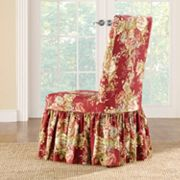 Sure Fit Waverly Ballad Bouquet Long Dining Room Chair
