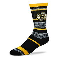 Adult For Bare Feet Boston Bruins RMC Stripe Crew Socks