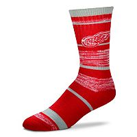 Adult For Bare Feet Detroit Red Wings RMC Stripe Crew Socks