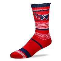 Adult For Bare Feet Washington Capitals RMC Stripe Crew Socks