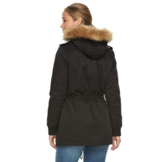 Women's Levi's Faux-Fur Hooded Anorak Jacket