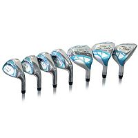 Women's Tour Edge Golf Right Hand 2015 Lady Edge Hybrid & Iron Golf Clubs Set