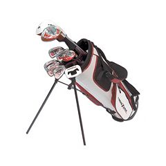 Men's Tour Edge Tour Zone Right Hand Golf Clubs & Stand-Up Bag Set