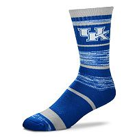 Adult For Bare Feet Kentucky Wildcats RMC Stripe Crew Socks