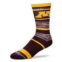 Adult For Bare Feet Minnesota Golden Gophers RMC Stripe Crew Socks