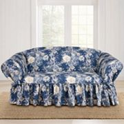 Sure Fit Waverly Ballad Bouquet Loveseat Slipcover