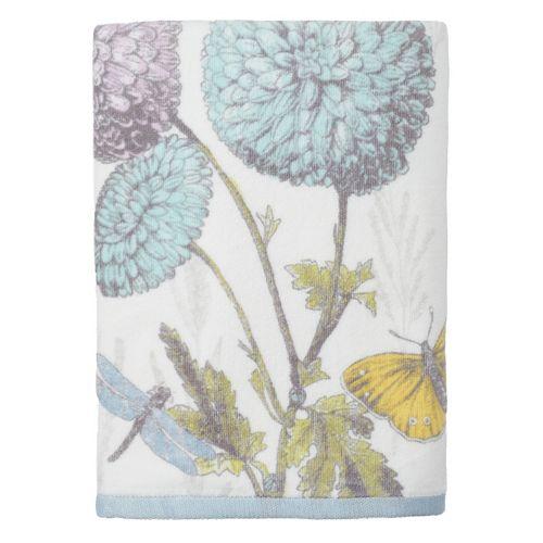 Enchanted Garden Printed Bath Towel