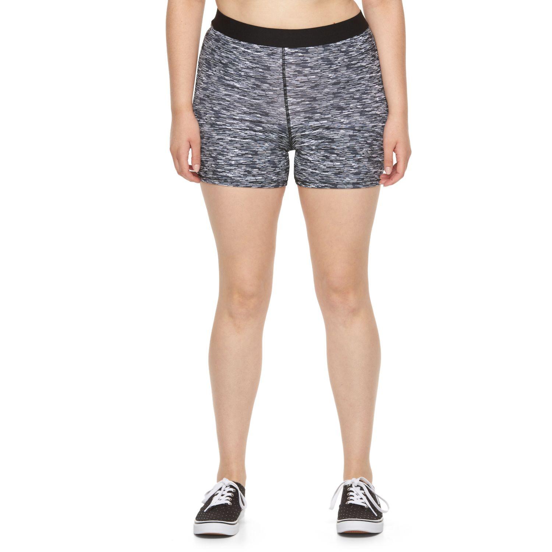 Juniors Plus Size SO? Yoga Midi Shorts