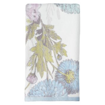 One Home Brand Enchanted Garden Printed Hand Towel