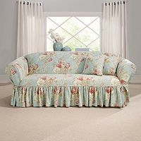 Sure Fit Waverly Ballad Bouquet Sofa Slipcover