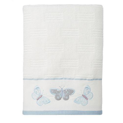 Enchanted Garden Embroidered Bath Towel