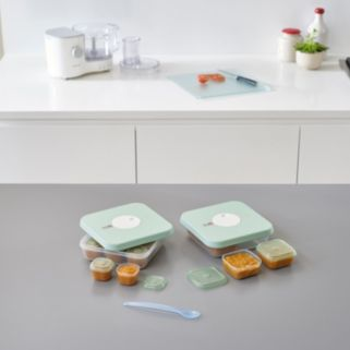 Joseph Joseph Dial Storage 10-piece Stage 1 Baby Food Container Set
