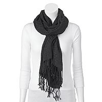 Apt. 9® Basketweave Fringed Scarf