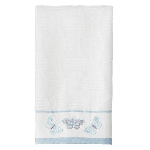 Enchanted Garden Embroidered Hand Towel