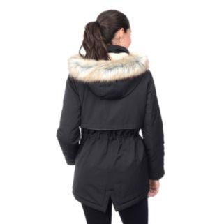 Women's Croft & Barrow® Hooded Anorak Parka