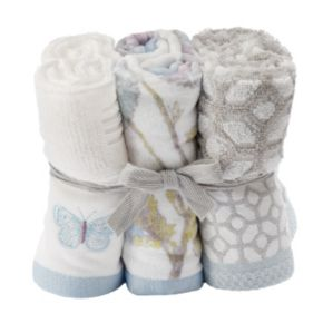 One Home 6-piece Enchanted Garden Washcloths