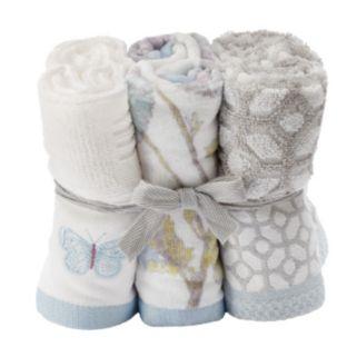One Home Brand 6-piece Enchanted Garden Washcloths