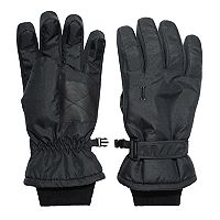 Women's Igloos Solid Waterproof Ski Gloves