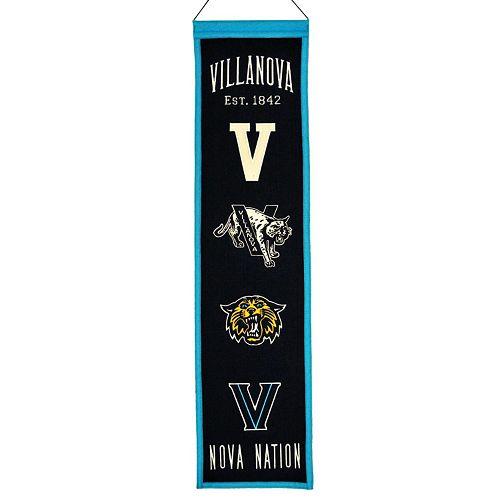 Villanova Wildcats Heritage Banner