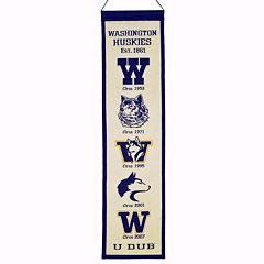 Washington Huskies Heritage Banner