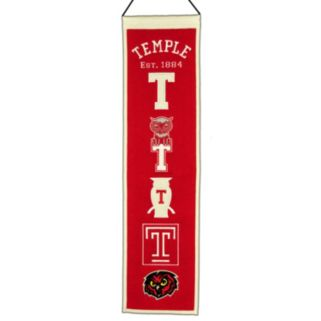 Temple Owls Heritage Banner