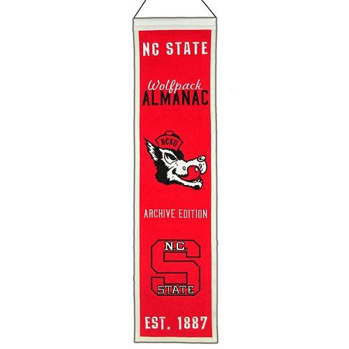 North Carolina State Wolfpack Heritage Banner