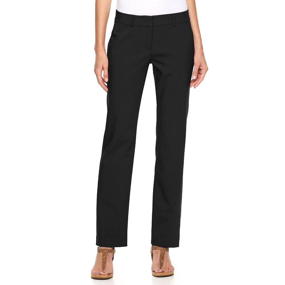 Apt. 9® Torie Straight-Leg Dress Pants