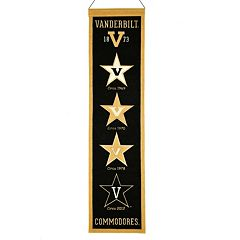 Vanderbilt Commodores Heritage Banner