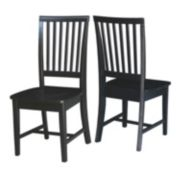 International Concepts Mission Dining Chair 2-piece Set