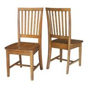 International Concepts Mission Dining Chair 2 pc Set