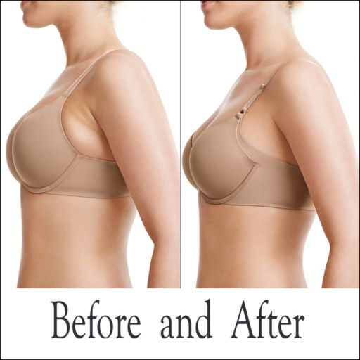Warner's Bra: No Side Effects Full-Coverage T-Shirt Bra with Lift RD0561A