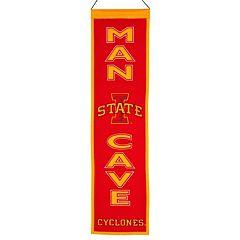Iowa State Cyclones Man Cave Banner