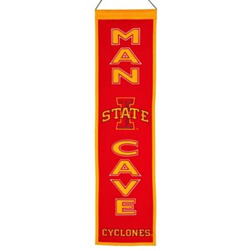 Iowa State Cyclones Man Cave Banner