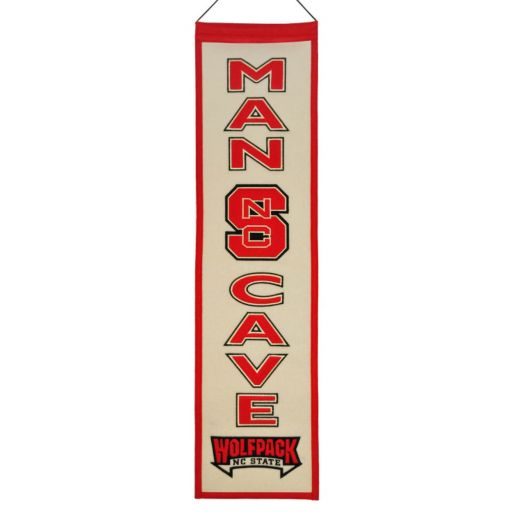 North Carolina State Wolfpack Man Cave Banner