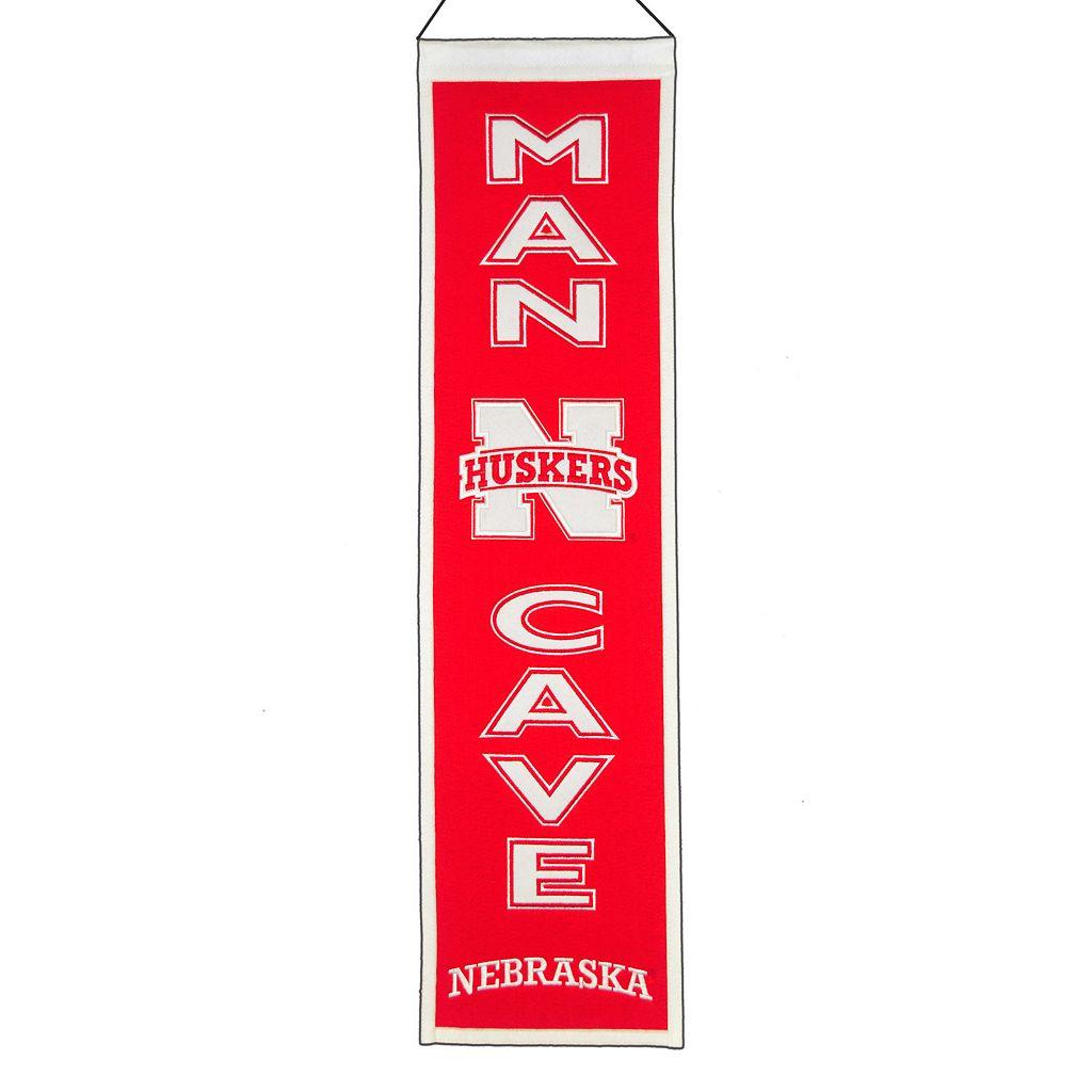 Nebraska Cornhuskers Man Cave Banner