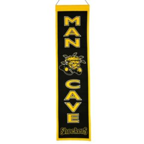 Wichita State Shockers Man Cave Banner