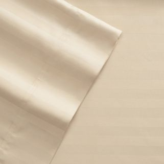 Grand Collection 600 Thread Count 6-piece Woven Stripe Sheet Set