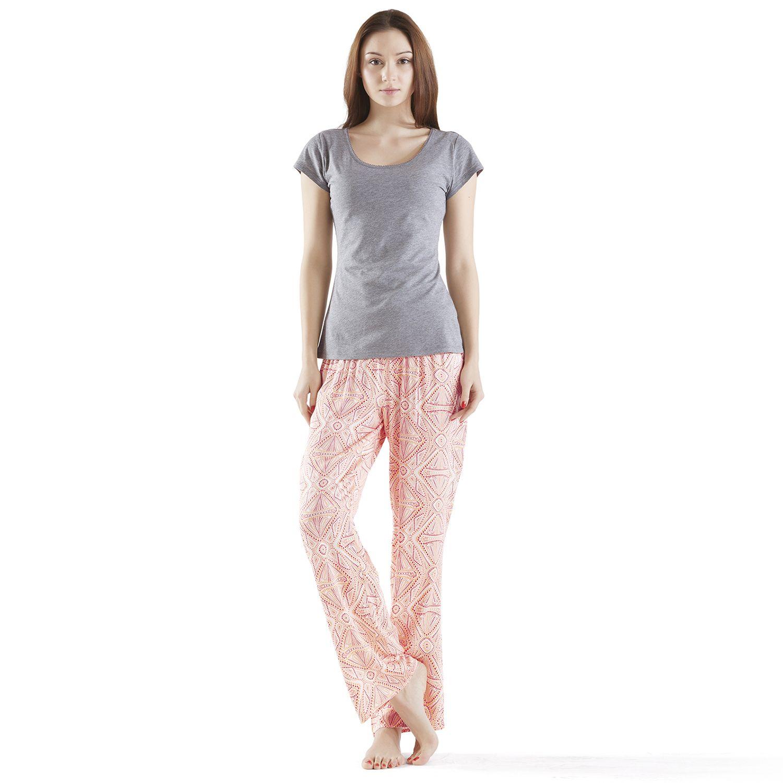 Womens INK+IVY Pajamas: Pedra Tee & Pants Pajama Set