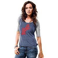 Women's Majestic New England Patriots Pride Rules Tee