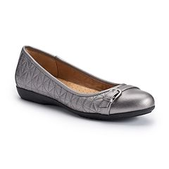 Croft & Barrow® Women's Ortholite Quilted Ballet Flats