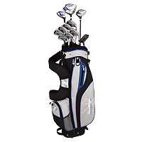 Junior Tour Edge Golf HP25 Varsity Left Hand Golf Clubs & Stand-Up Bag Set